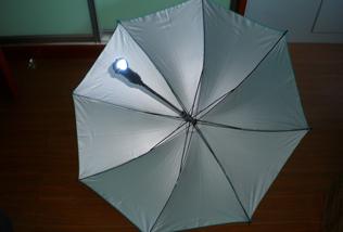 LEDライト付き傘